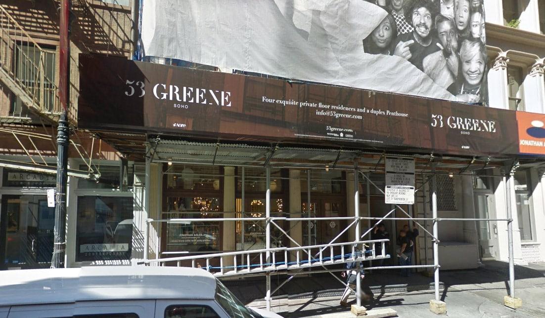 53 Greene Street Manhattan NY 10013