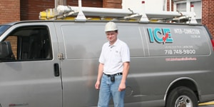 Inter Connection Electric Inc. van
