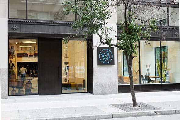 Blu Dot Furniture Store NYC - Inter Connection Electric