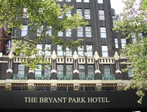 Bryant Park Hotel, New York, NY