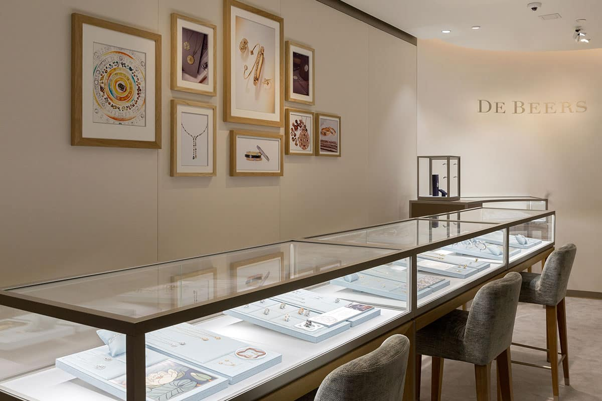 DeBeers high end diamond company - Inter Connection Electric