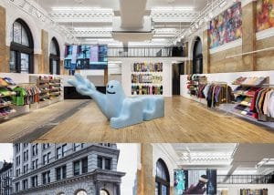Supreme Shoe Store NYC - Inter Connection Electric Project