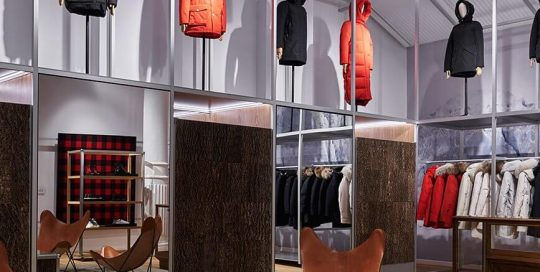 Woolrich Fashion Store NYC - Inter Connection Electric